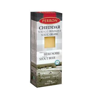 Cheddar à la bière BIO - Fromagerie Perron