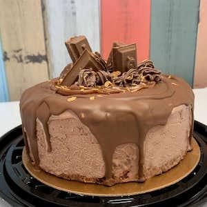 Gâteau glacé triple chocolats
