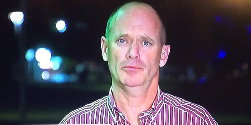 campbell newman looking confused at night