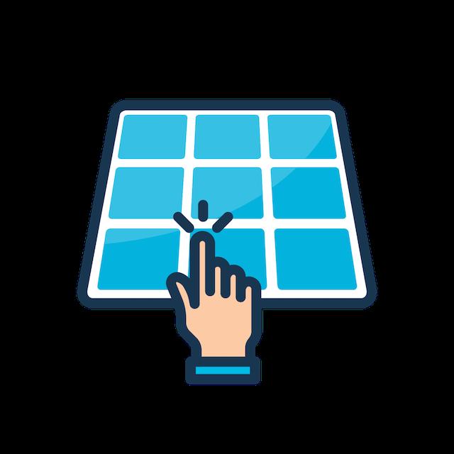 request solar quotes icon
