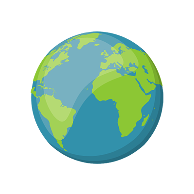 climate change kids earth icon