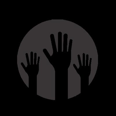 climate change kids volunteering icon