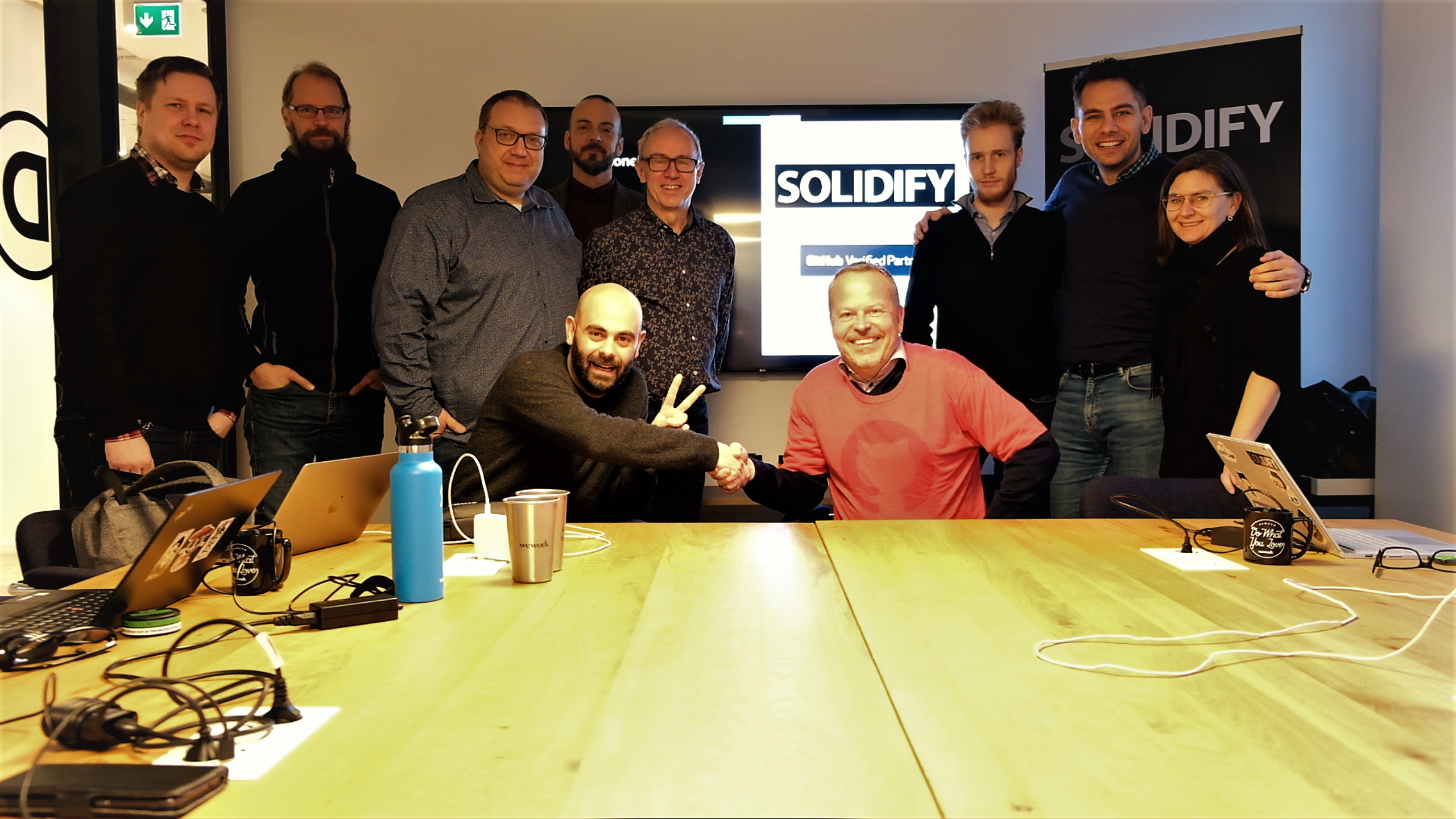 Solidify becomes verified GitHub partner