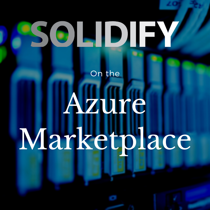 Solidify on the Azure Marketplace