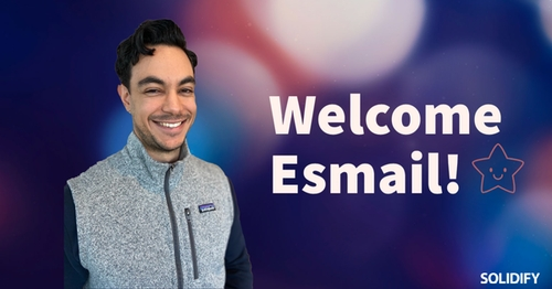 Blog post image for blog post with title Welcome Esmail!
