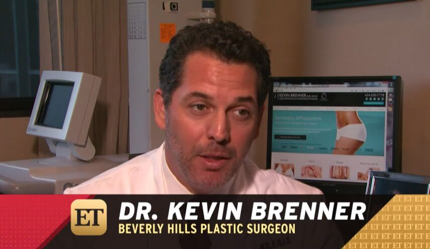 Ariel Winter's Breast Reduction Surgeon, Dr. Kevin Brenner