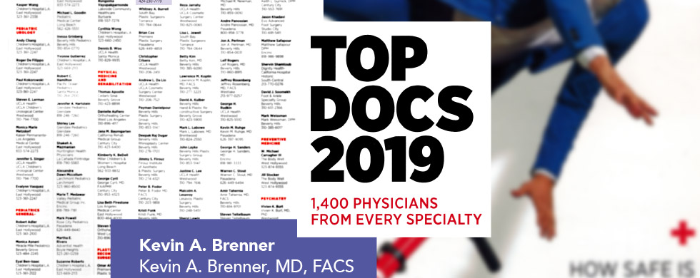 Los Angeles Magazine - Top Docs 2019