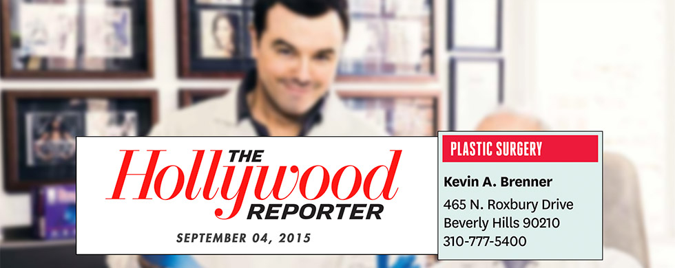 Another year Dr. Brenner is listed in THR's 'Hollywood's Top Doctors