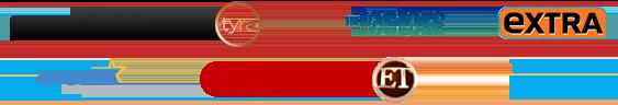 various media logos