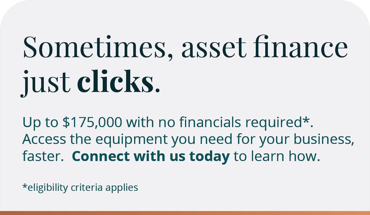 Sometimes, asset finance just clicks
