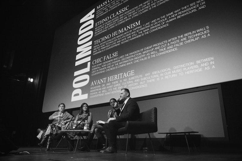 Polimoda's Director Danilo Venturi at LVR Summit 2016