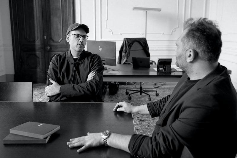 David Fischer with Danilo Venturi