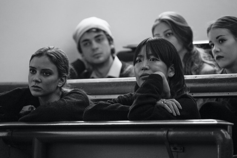 Olivier Theyskens lecture - audience