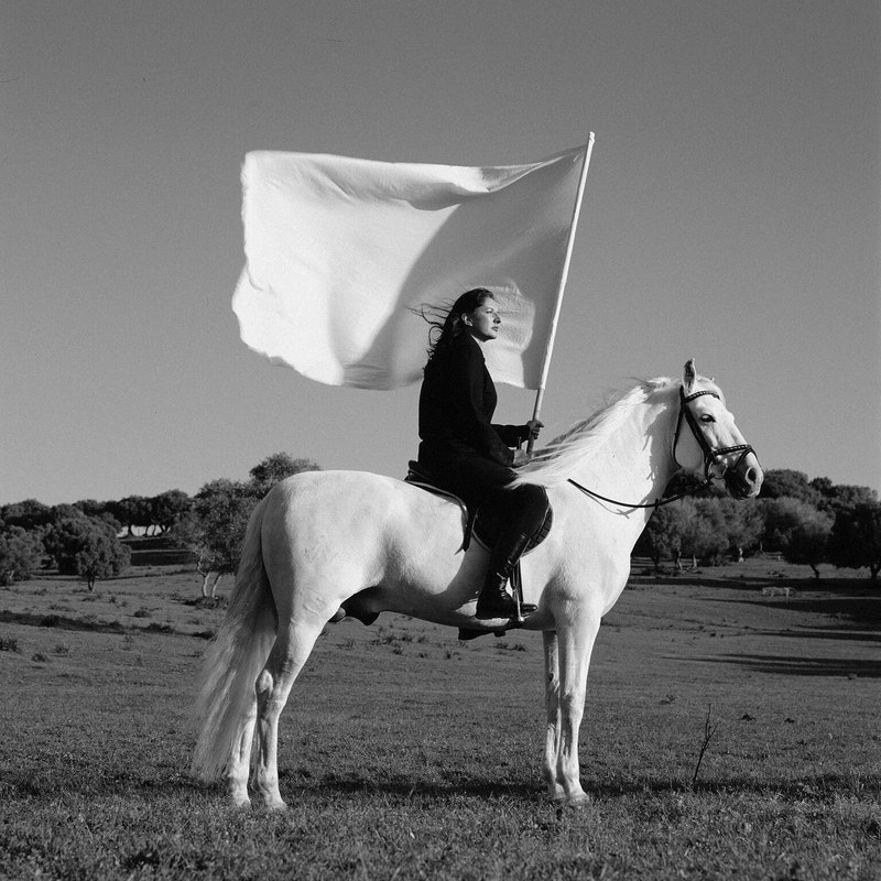 Marina Abramovich - press shot