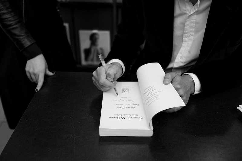 Andrew Wilson - book signing