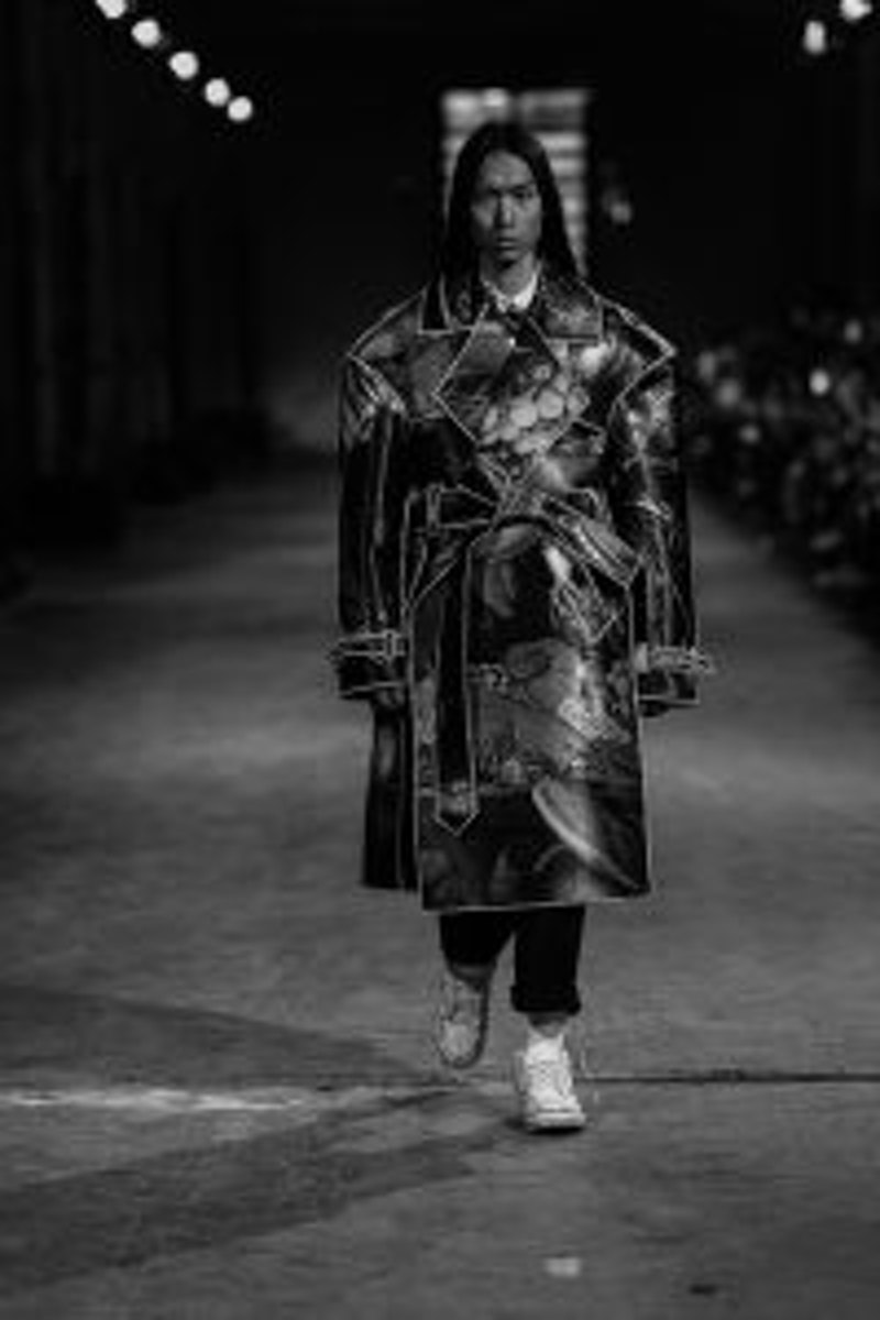 Francesco Malandrini - Polimoda fashion show 2019 winner