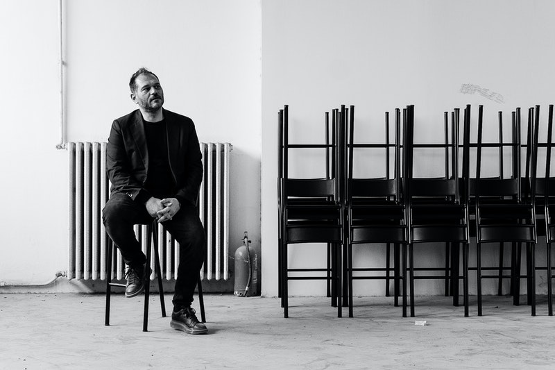 Danilo Venturi at Polimoda's campus at Manifattura Tabacchi, Firenze.