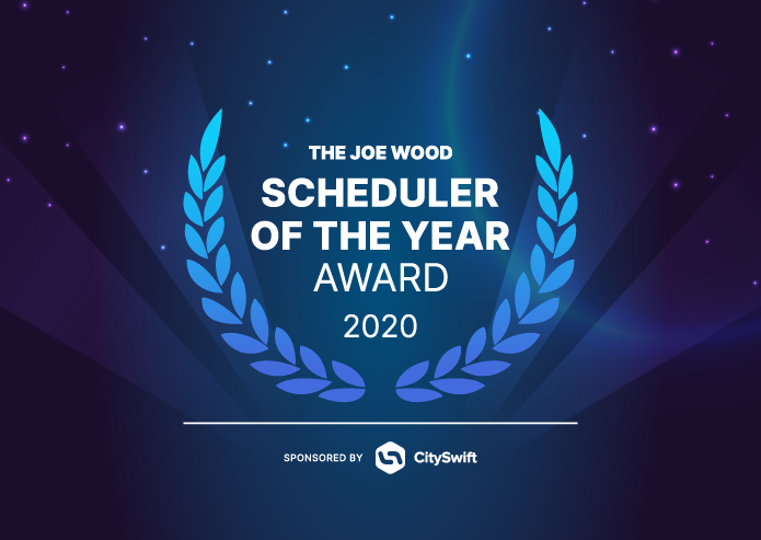 The Joe Wood Scheduler of the Year Award 2020