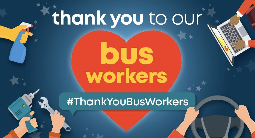 Thank you bus workers