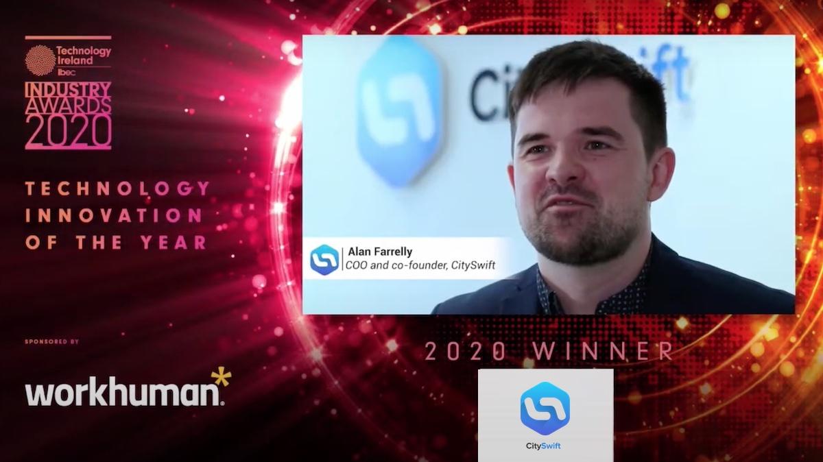 CitySwift wins 'Technology Innovation of the Year' Award