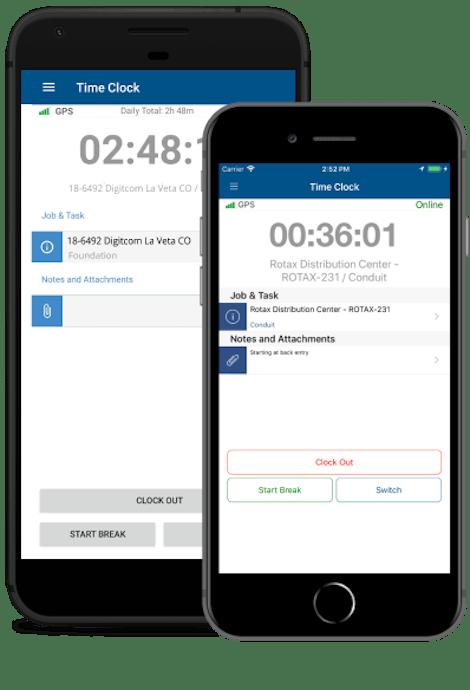 Download ClockShark's GPS time clock app for free