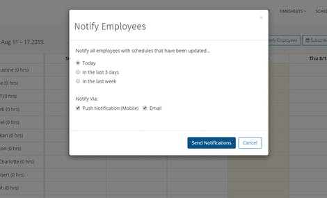 No More Calling and Texting Employee Schedules With Employee Scheduling App