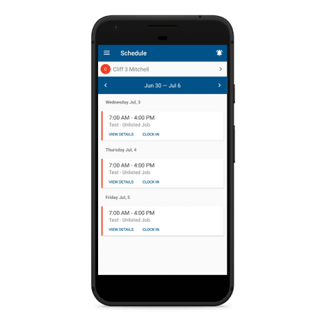 Employee Scheduling App for the Mobile Workforce