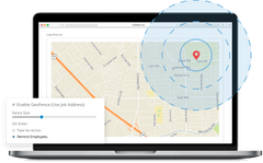 GeoFence Time Tracking App for Mobile Workforce