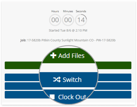 Switch Jobs and Tasks in Seconds With Employee Web Punch Clock