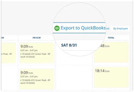 Easy QuickBooks Time Tracking Integration