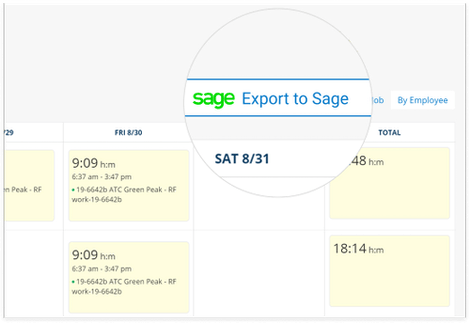 Accurate Timesheet With Sage Time Tracking