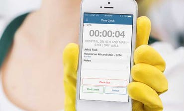 Time Tracking App for Cleaning Companies
