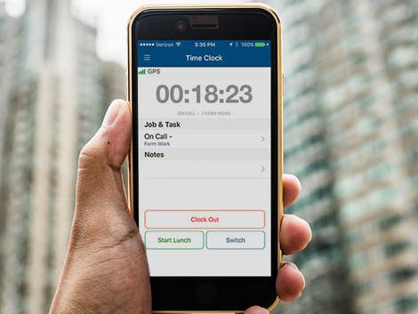 Employee Time Clock App Travels with Your Mobile Workforce