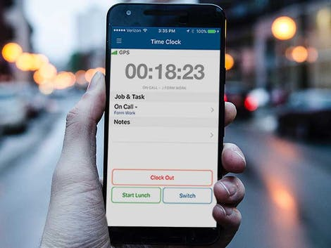 Collect Time from Easy to Use Mobile Apps With Online Timesheets