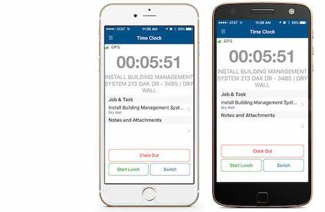 Timesheet App for Mobile Workforce