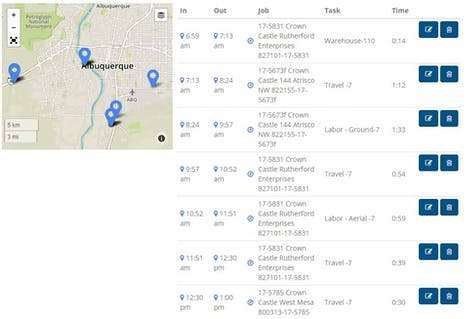 Get GPS Locations of Workers Automatically With Timesheet App