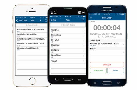 Mobile Time and Attendance Software