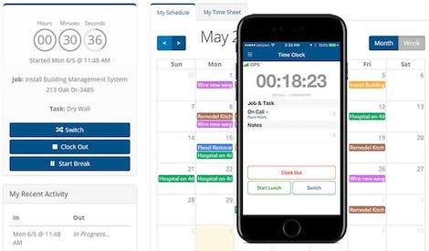 Automated Timesheet Software