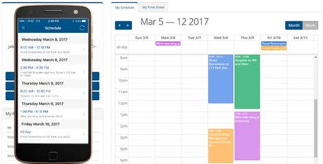 Timesheet Software with Employee Scheduling