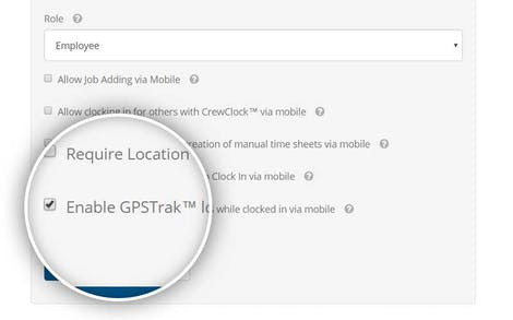Get employees' location updates throught the day with GPS Time Clock App