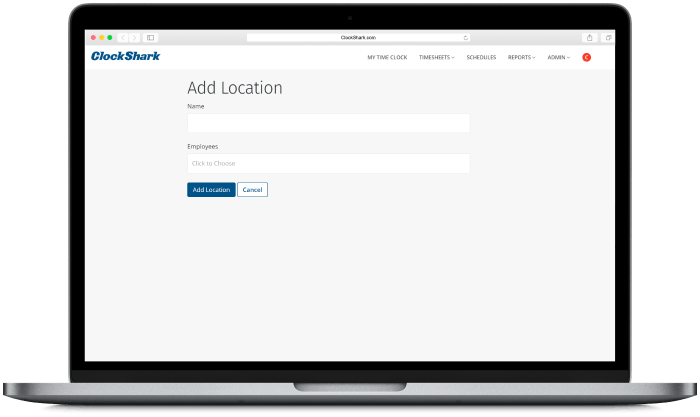 Timesheet App for Multiple Departments & Locations