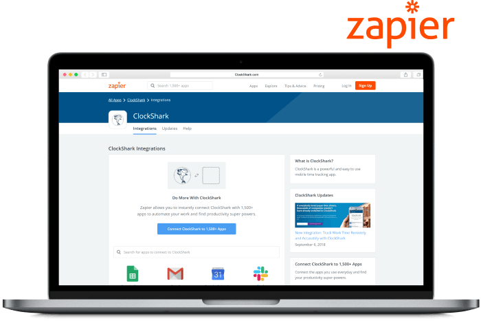 Zapier Time Tracking