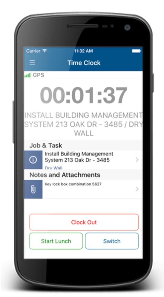 ClockShark Feature
