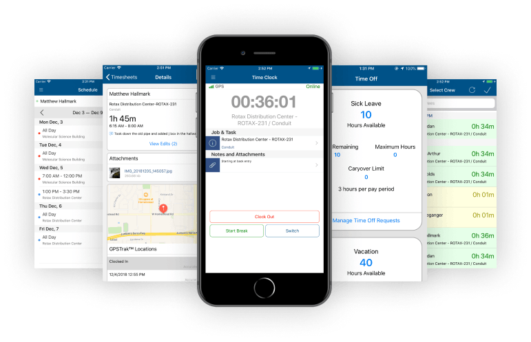Mobile Time Tracking - Alternative to MJobTime