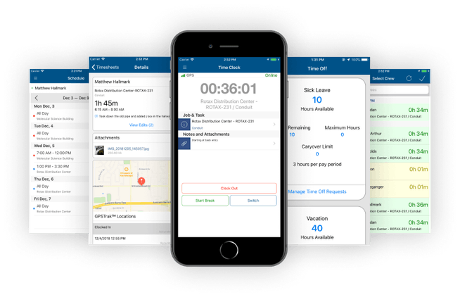 Mobile Time Tracking - Alternative to MJobTime