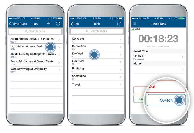 Advantages of Mobile Time Clock for Job Costing
