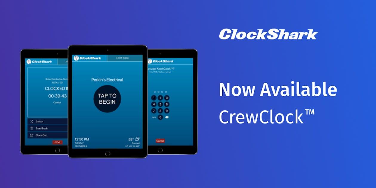 ClockShark's CrewClock™ Feature is Live!