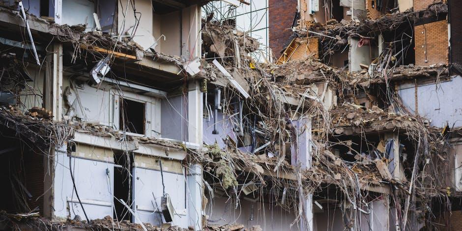 Demolishing or Modifying Existing Construction Structures