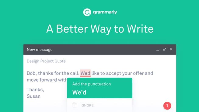 Grammarly Time Management App