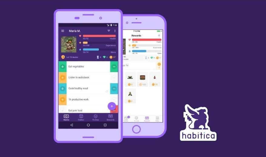 Habitica Time Management App